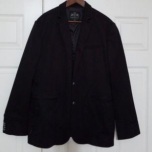 Mens Black Express Stretch Blazer Size XL